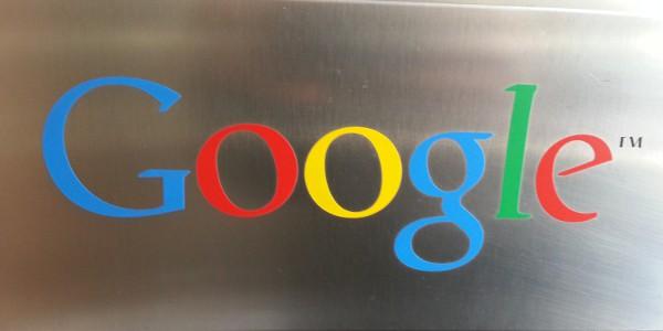 Il Logo di Google nella sede di Milano